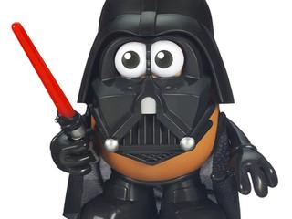 Playskool Mr. Potato Head Star Wars Darth Tater