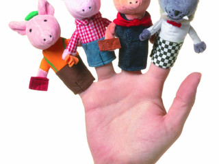 Manhattan Toy Storytime Finger Puppets