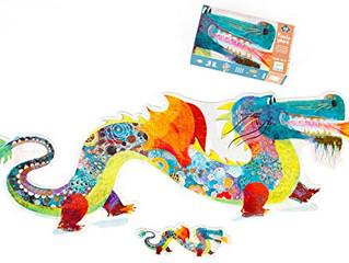 Djeco Leon the Dragon Giant Puzzle