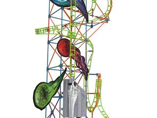 K'nex Lunar Launch Roller Coaster Set     AWARD PENDING