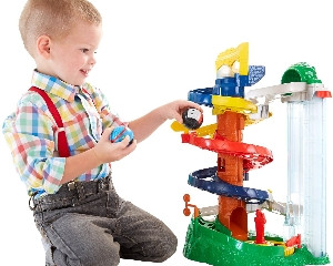 Fisher Price Thomas & Friends RailRollers Spiral Station
