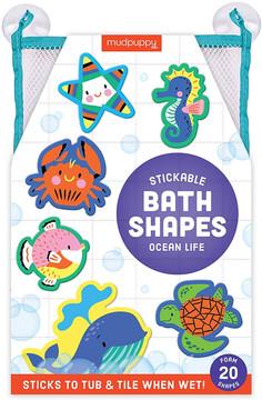 Mudpuppy Bath Shapes Ocean Life