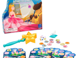 Educational Insights Wave the Wand Cinderella Game