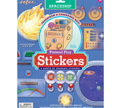 eeBoo Pretend Play Stickers: Car, Kitchen & Spaceship