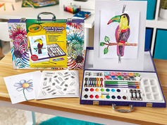 Crayola Paint and Create Easel Case