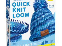 Creativity for Kids #HatNotHate Quick Knit Loom