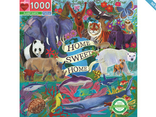 eeBoo Planet Earth Puzzles 100 and 1000 Pieces
