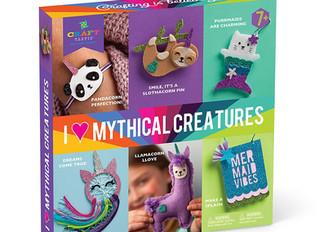Ann Williams I Love Mythical Creatures Kit