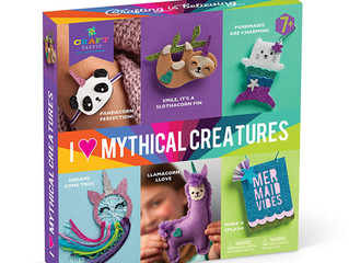 Ann Williams I Love Mythical Creatures Kit