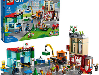 LEGO City Town Center 60292 Building Kit