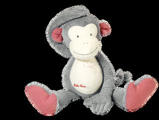 Kathe Kruse Monkey Carlo Dangle XXL