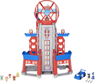 Spinmaster Paw Patrol, Movie Ultimate City 3ft. Tall Transforming Tower