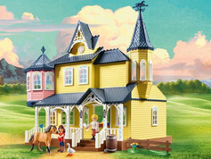 Playmobil Dreamworks Lucky's Happy Home