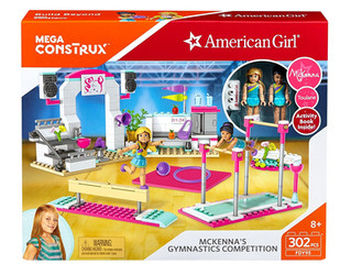 Mega Construx, American Girl McKenna's Gymnastics Competition