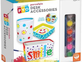 MindWare Paint Your Own Porcelain: Desk Accessories