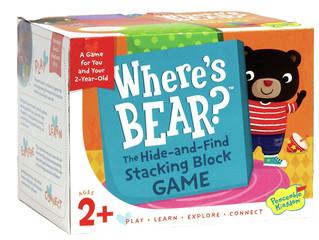 Peaceable Kingdom Where's Bear? Game