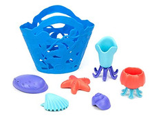 Green Toys Ocean Bound Plastic Tide Pool Set
