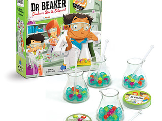 Blue Orange Dr. Beaker AWARD PENDING