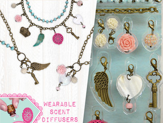 Craftivity Aroma Jewelry Lovely Lockets and Chic Cuffs