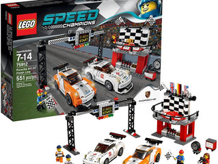 LEGO Speed Champions Porsche 911 GT Finish Line