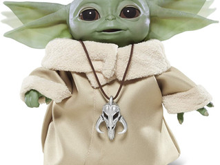 "Hasbro Star Wars The Child Animatronic Edition ""AKA Baby Yoda""  The Mandalorian"