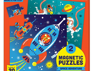 Mudpuppy Outer Space Magnetic Puzzle