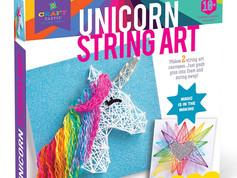 Craft-tastic String Art Unicorn