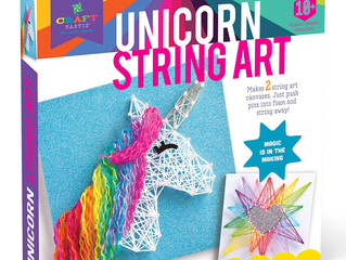 Craft-tastic String Art Unicorn