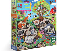 eeBoo Within the Country, Sea or City 48-piece Puzzles