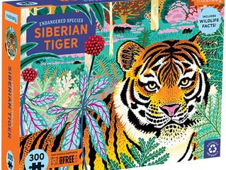 Mudpuppy Siberian Tiger 300 Piece Puzzle