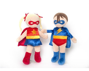 North American Bear Baby Hero Dolls