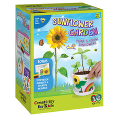 Creativity for Kids  Sunflower Garden with Book
