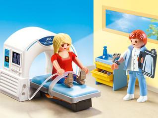 PLAYMOBIL Radiologist Playset