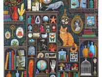 eeBoo Alchemist's Cabinet, Berlin Life, Woman in Flowers, 1000-Piece Puzzles
