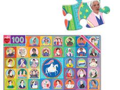 eeBoo Vote for Women 100 Piece Puzzle