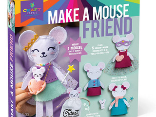 Craft-tastic Make a Mouse Friend