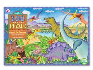 eeBoo Age of the Dinosaur Puzzles