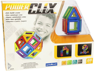 Guidecraft Power Clix Solids