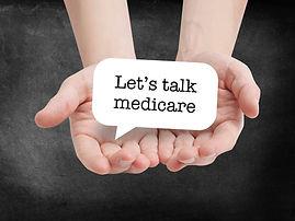 Medicare written on a speechbubble.jpg