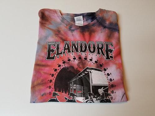 Elandorf 2015 tie dye t-shirt