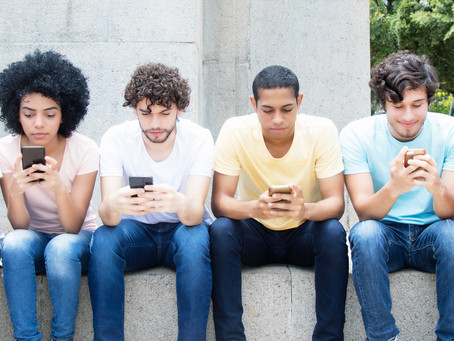 Is social media device usage becoming a problem for youth?