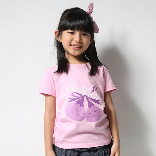 "童裝T恤""Gentleness""粉紅"