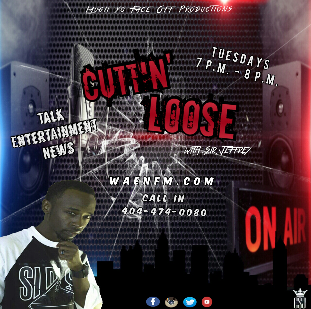SJ CuttinLoose Media Flyer