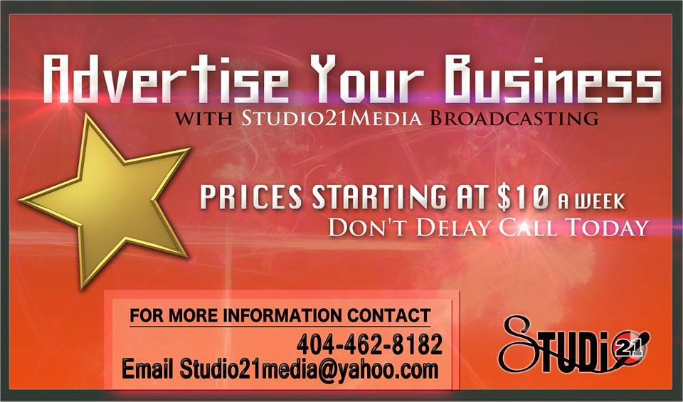 Studio21Media Advertisement flyer