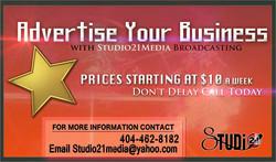 Studio21Media Advertisement flyer