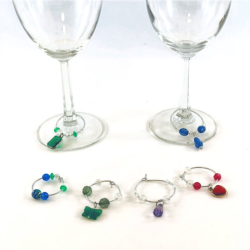 Dreams - Rainbow Wine Charms
