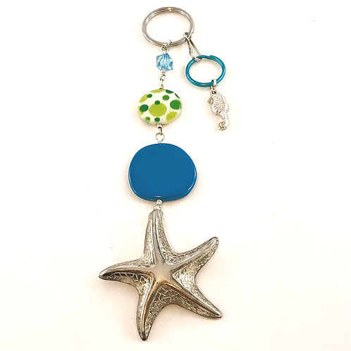 Starfish Fab Key Fob