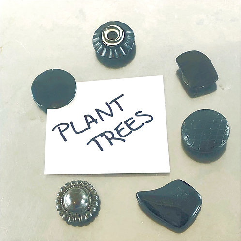 Plant Trees - Reefer Magnets