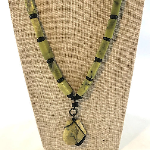 Snake In The Grass Necklace