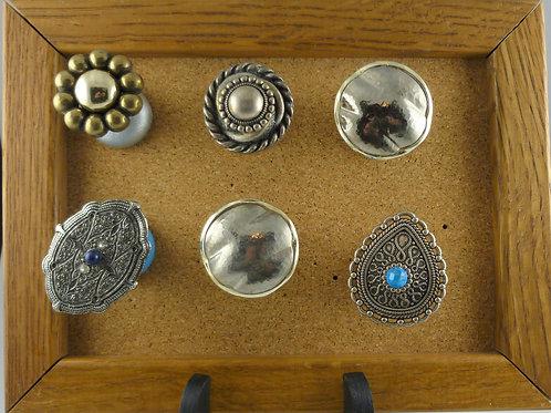 Marvelous Metals - Posh Pins